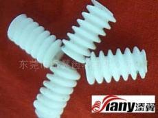 東莞塑膠蝸桿 0.6X12X1.9L