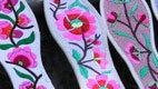 北川和谐旅游禹羌情民族手工羌绣绣花鞋垫