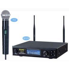 供應億歌UHF真分集多信道一拖一無線麥克風WMS-8121T11