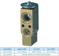 丰田膨胀阀汽车空调膨胀阀Toyota Avalon ETC HRC-134a System