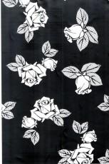 廣東供應彩色不銹鋼黑色鏡面玫瑰花花紋蝕刻板