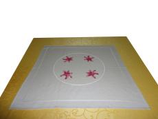 满绣 高级台布桌布系列 台布k型 民间手工刺绣工艺 承德工艺品