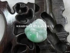翡翠带翠手工佛S002