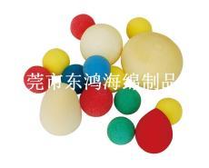 海綿球 泡綿圓球 橢圓球 PU棉球