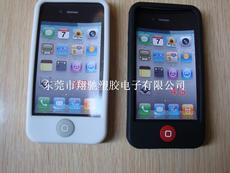 厂家供应Iphone 4硅胶手机套