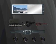 5.8 TFT Parking sensor system
