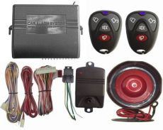 Car alarm system A
