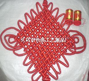 绸缎金线12盘中国结
