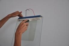 可自貼調光電子窗簾薄膜