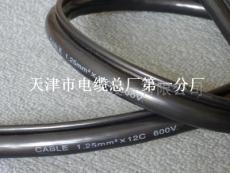 帶鋼絲繩的PVC行車控制電纜 KVVRC