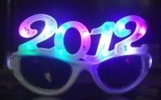 LED发光眼镜