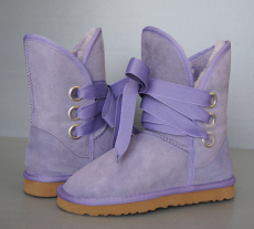 Womens 5828 Roxy Boots in Lavender Short