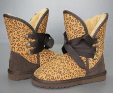 Womens 5828 Roxy Boots in Leopard SHORT