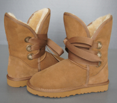 Womens 5828 Roxy Boots Chestnut short