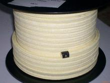 高水基盘根由高质量苎麻纤维 内 外涂石墨 且充分浸润特殊的润滑油方形编织而成