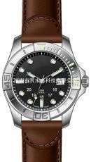 dx0037系列 鋼殼皮帶款 石英日歷手表