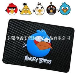 愤怒的小鸟鼠标垫 可爱卡通鼠标垫 鼠标防滑垫