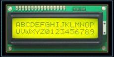 字符點陣 RXK1602A