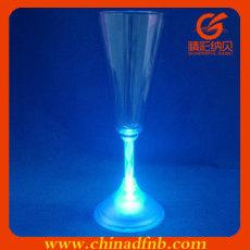 led flashing martini glass
