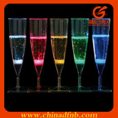 Fashion Liquid water activated led glass cups