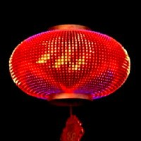 数码LED中国灯笼