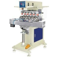自动套印六色穿梭移印机