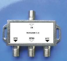 IPTV splitter 3 way splitter HPNA compatible with OEM IPTV