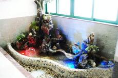 佳木斯室內陽臺景觀雕塑