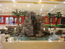 佳木斯庭院景觀雕塑 假山魚池最新創意