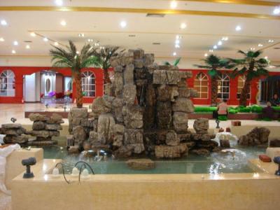 佳木斯庭院景观雕塑 假山鱼池最新创意