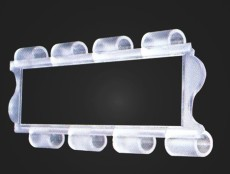 东莞折叠水晶门 电动水晶门 测卷水晶门