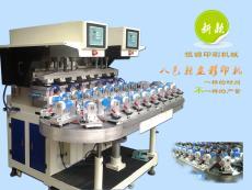 8色轉盤20工位雙頭轉盤移印機