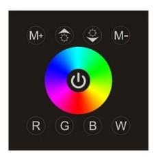 LED 觸摸射頻2.4G 高靈敏度面板控制器