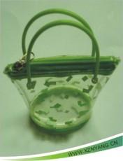 高周波電壓 針車車縫PVC軟膠袋 手提袋 鎖骨袋 文件袋