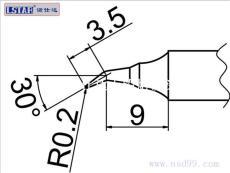 諾仕達直銷T20-J02烙鐵頭 T20 J02焊咀 T20烙鐵頭