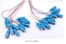 石英光纖跳線SC/PC-0.9單模接頭