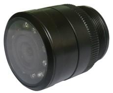 通用打孔 28MM红外倒车摄像头 LED自动变焦车载摄像头