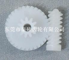 秦硕齿轮 塑胶蜗轮蜗杆 塑料蜗轮蜗杆