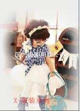 儿童舞台服饰当前新款 照相拍照背景服装