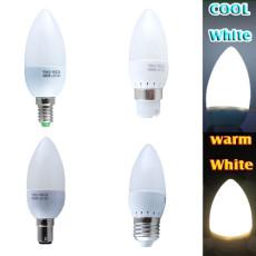 E27 E14 B22 B15 ES SES BC SBC 3W 10 SMDs LED Candle Bulb Spot Light Lamp Home
