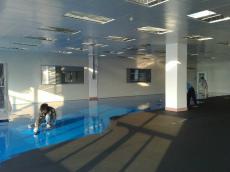 環氧防靜電平凃地坪涂裝