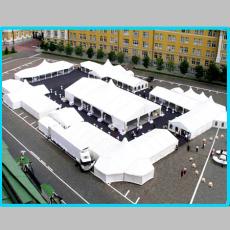 經典設計異型篷房 組合型帳篷 來樣定做 量身打造 個性十足