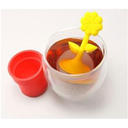盆栽硅膠泡茶器