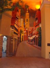 安顺咖啡屋壁画
