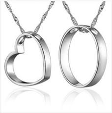 银饰情侣项链系列--XL0252