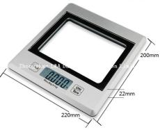 LKS308-SL High quality kitchen weighing balance scale with transparent screen