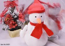 2015 Cute plush Snowman toys for kids Christmas