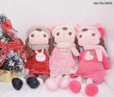 可爱小女孩玩偶 玩偶布娃娃 毛绒玩具