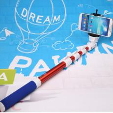蓝牙自拍器 遥控自拍杆 便携手持照相机 自拍神器杆生产厂家