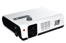 Vertical shadow Gao Qingyuan polarization LED short focal 1080 p projector intelligent household pol